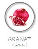 Kokoswasser Geschmack Sorte Granatapfel