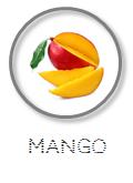 Kokoswasser Geschmack Sorte Mango