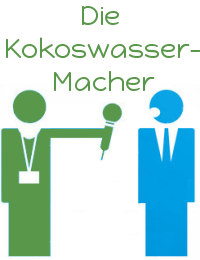 Interviews mit den Kokoswasser-Machern