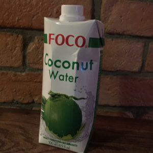 Ein Favorit: Foco Kokoswasser